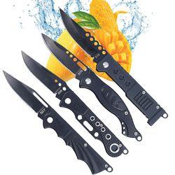 DUAN FA messer klinge jagd persönlichkeit outdoor-tool messer überleben poröse titanium klapp messer obst tragbare tasche messer