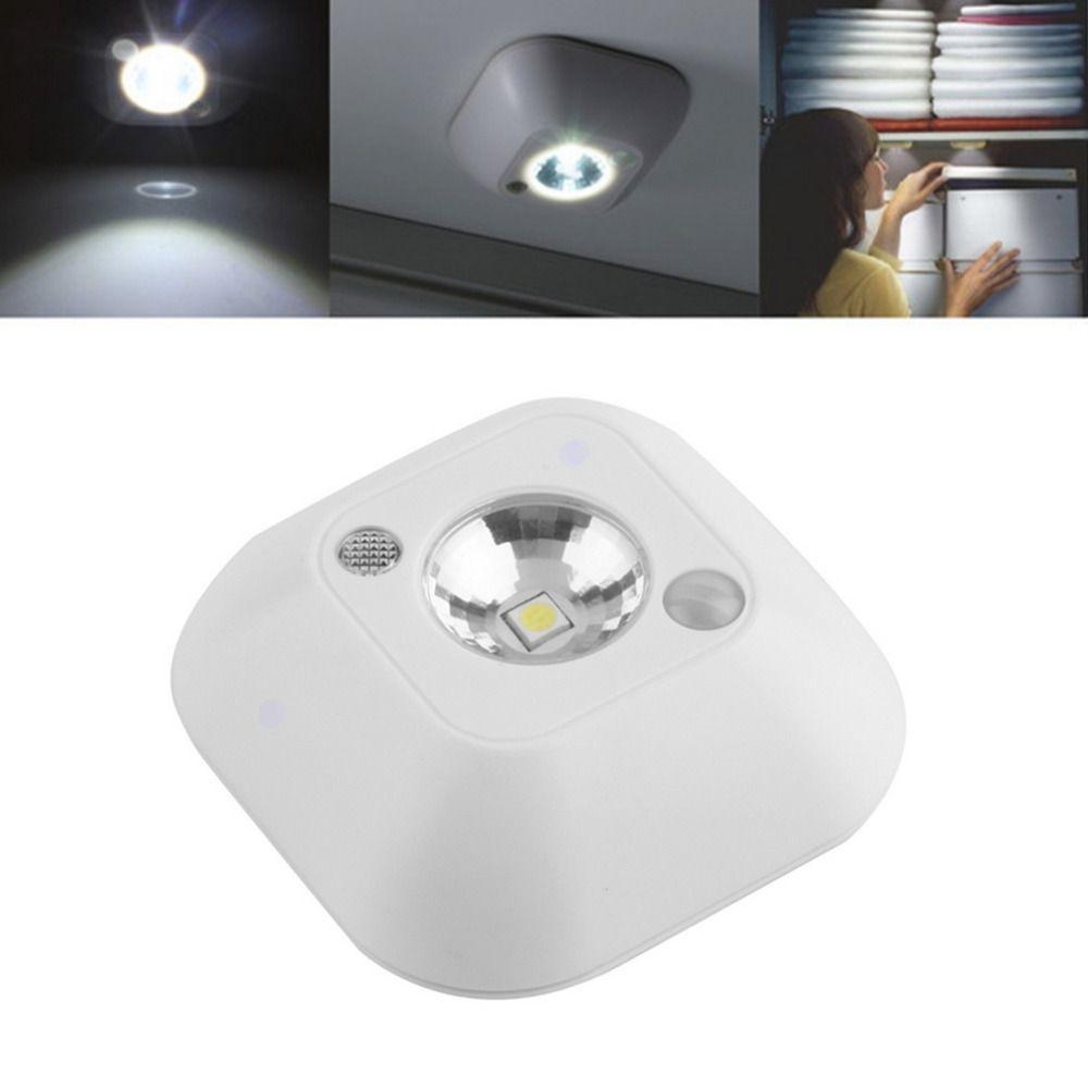 Hohe Qualität Mini Drahtlose Infrarot Bewegungsmelder Decken Nachtlicht Batteriebetriebene Veranda Lampe