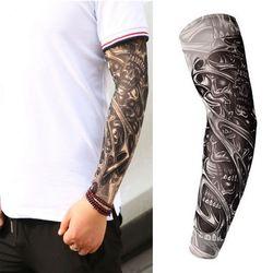 Фальшивая, временная татуировка рукава татуировки Полный Длинный слипоны Татуировка