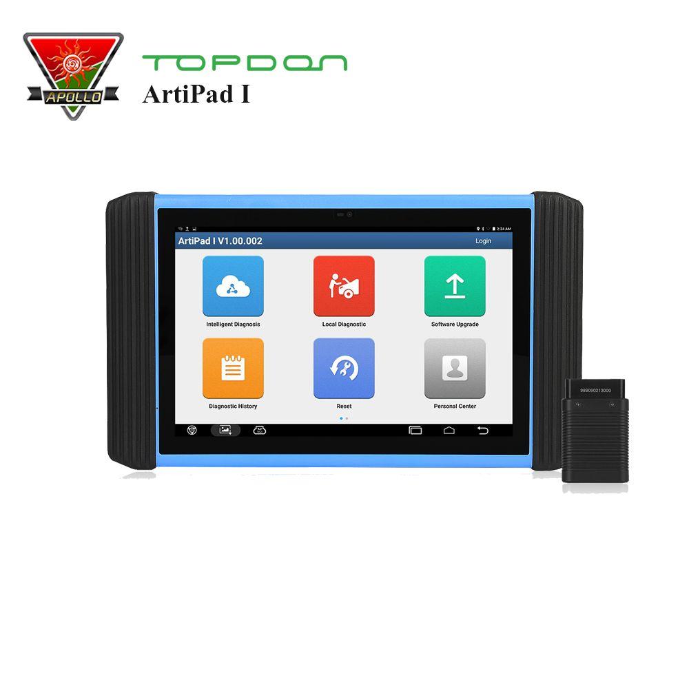 Topdon ArtiPad ICH OBD2 Scanner ECU Codierung Programmierung Diagnose Full Systeme Maxisys Pro I2534 Mit 2 Jahre Kostenloser Update