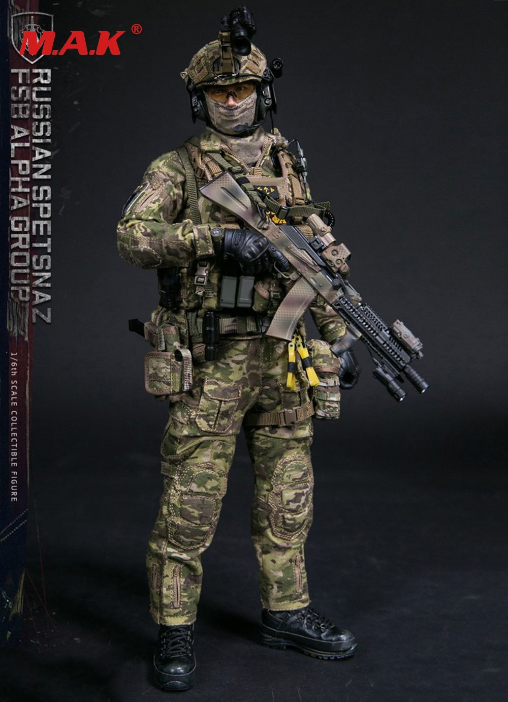 solider action figure full set 1/6 scale 78047B RUSSIAN SPETSNAZ FSB ALPHA GROUP male man standard version for collections