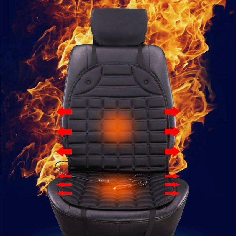 12v car heating Car seat covers back seat, winter car seat cushion accessories supplies, heated blending keep warm seat cushion