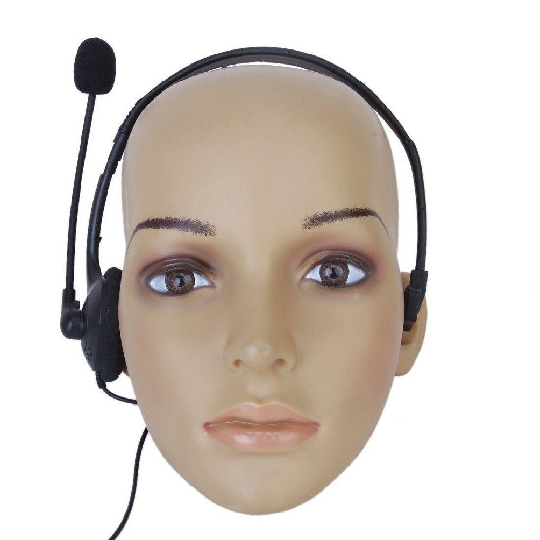 Marsnaska Neue Heiße Verkauf 3,5mm wired Gaming Headset Kopfhörer Kopfhörer + Mikrofon Mic Zubehör für PS4 computer Schwarz