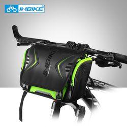INBIKE Tahan Air Sepeda Tas Besar Kapasitas Stang Depan Tas Tabung Sepeda Saku Bahu Ransel Bersepeda Sepeda Aksesoris