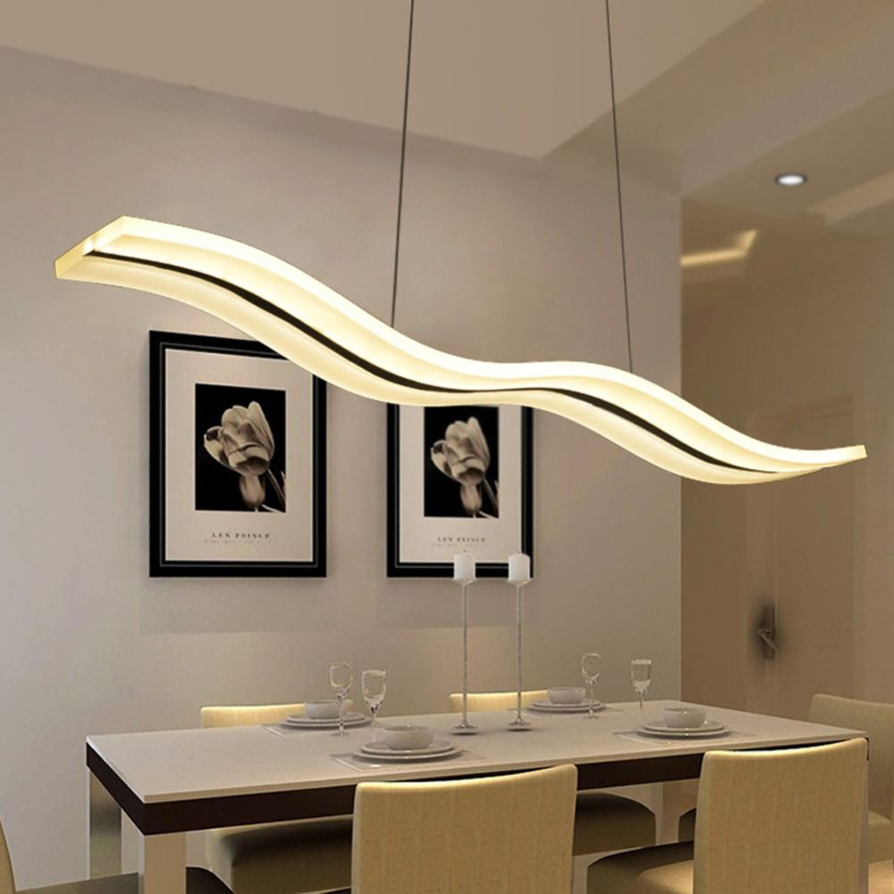 Led Modern Chandeliers For Kitchen Light Fixtures Home Lighting Acrylic Chandelier In The Dining Room Led Light Fixtures