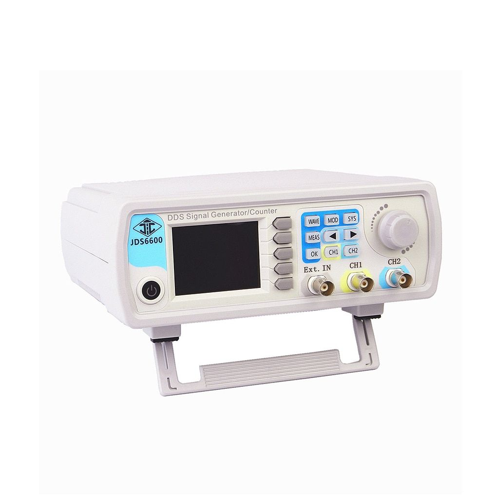 JDS6600 Digital Dual-channel DDS Function Signal Generator Arbitrary Waveform Pulse Signal Generator 60MHz Frequency Meter