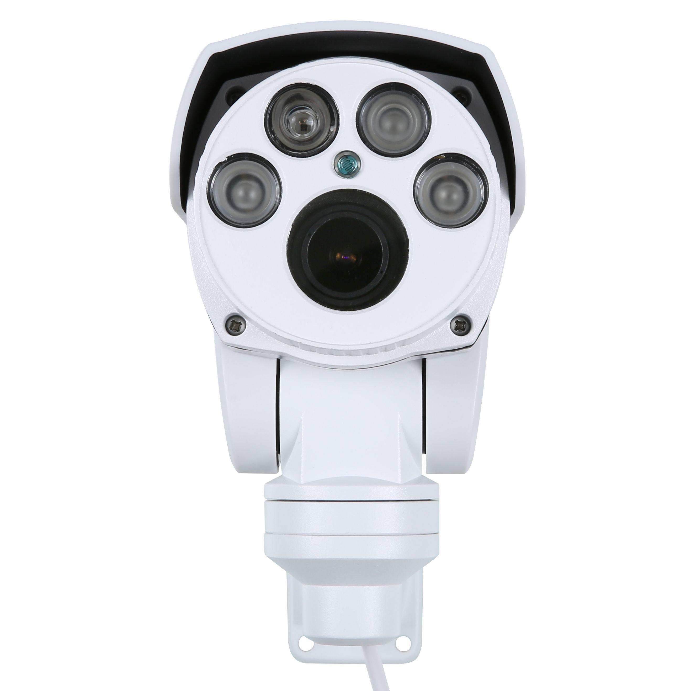 SANNCE AHD Full HD 1080P Camera 4in1 Autofocus Varifocal 5-50mm 10X Digital Zoom Pan/Tilt Bullet PTZ Camera IP66 In/outdoor