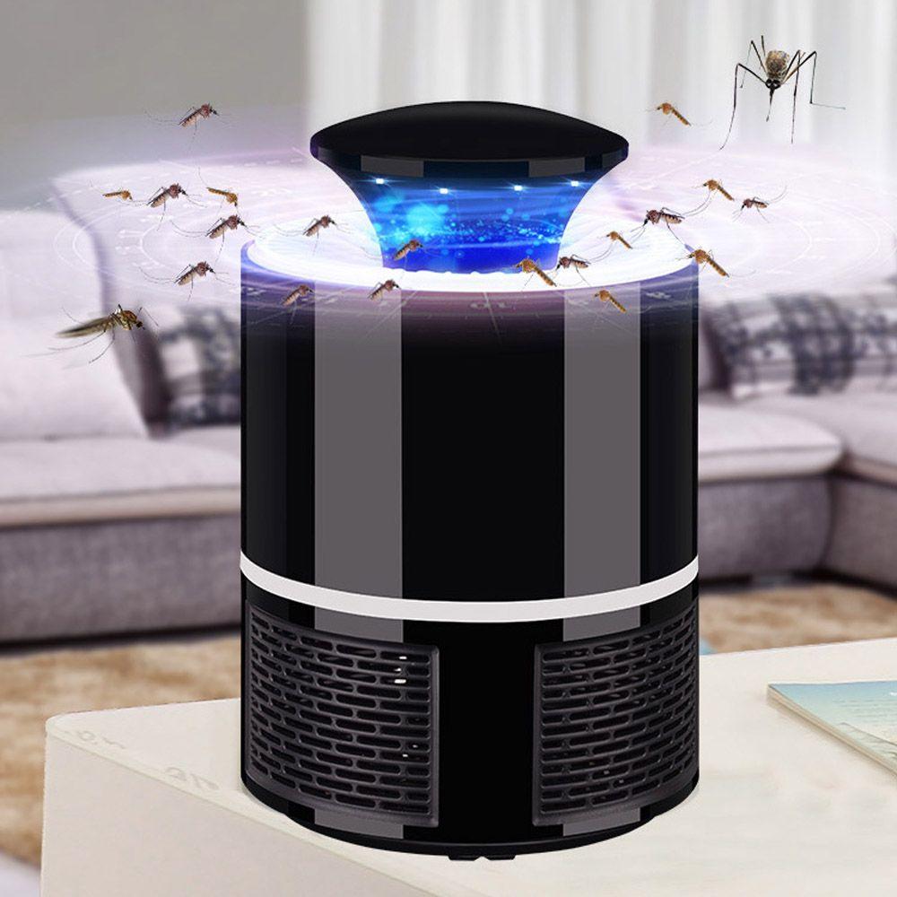 ETONTECK tueur de moustiques USB électrique tueur de moustiques lampe photocatalyse muet maison LED bug zapper piège à insectes sans rayonnement