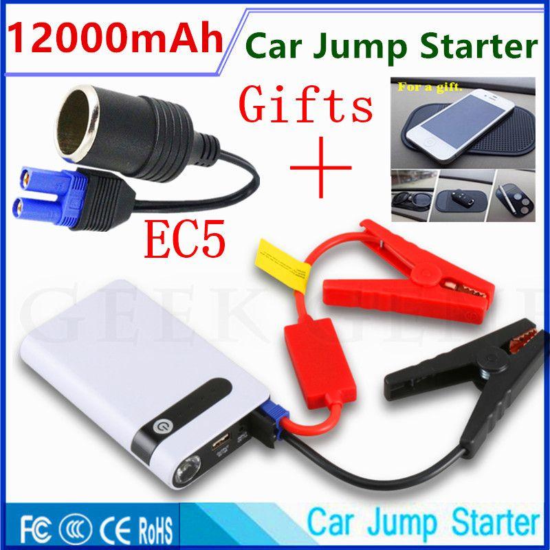 2017 Mini Emergency Starting Device 12V Car Jump Starter Portable Starter Power Bank Car Charger for Car Battery Booster Buster