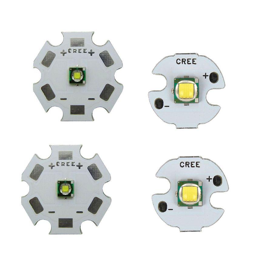 2 шт./лот 10 Вт высокое Мощность CREE XML XM-L T6 светодио дный U2 холодный белый светодио дный излучатель диод чип с 16 мм/20 мм печатных плат базу для DIY ...