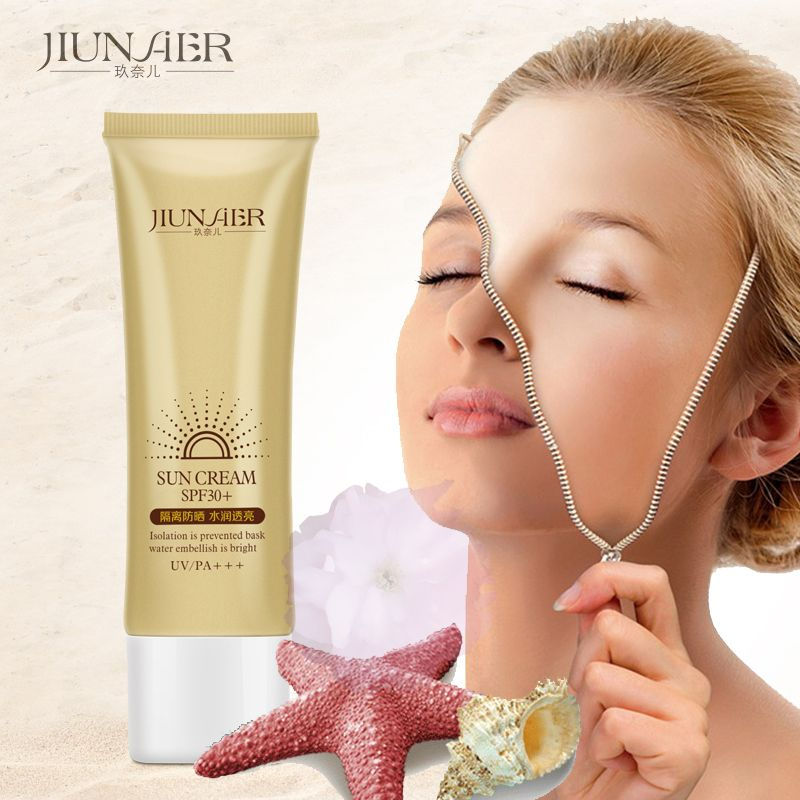 Facial Sunscreen SPF30+ Body Sun Cream Face Care Long Lasting Refreshing Lasting Moisture Summer Essentials Body Sunblock Beauty