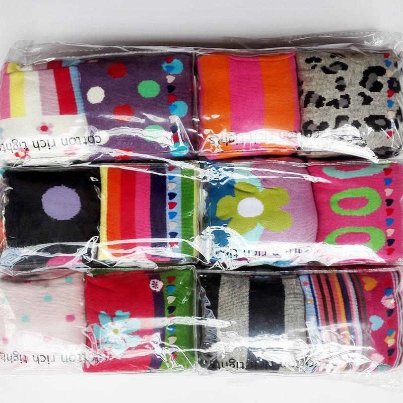 2 pièces/pack 7-10Y filles coton collants enfant collants bébé bas enfants collants filles rayé collants couleur livraison aléatoire