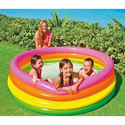 child inflatabl kids pool baby swimming pool children inflatable bottom summer water play B31005