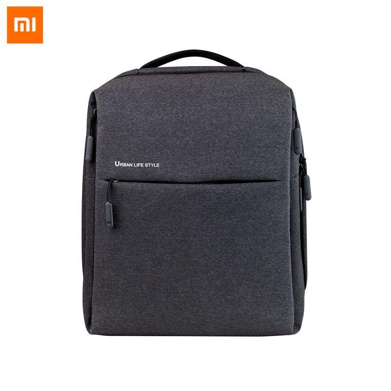 Original Xiaomi Mi Backpack Urban Life Style Shoulders OL Bag Rucksack Daypack <font><b>School</b></font> Student Bag Duffel Bag 14 inch Laptop Bags