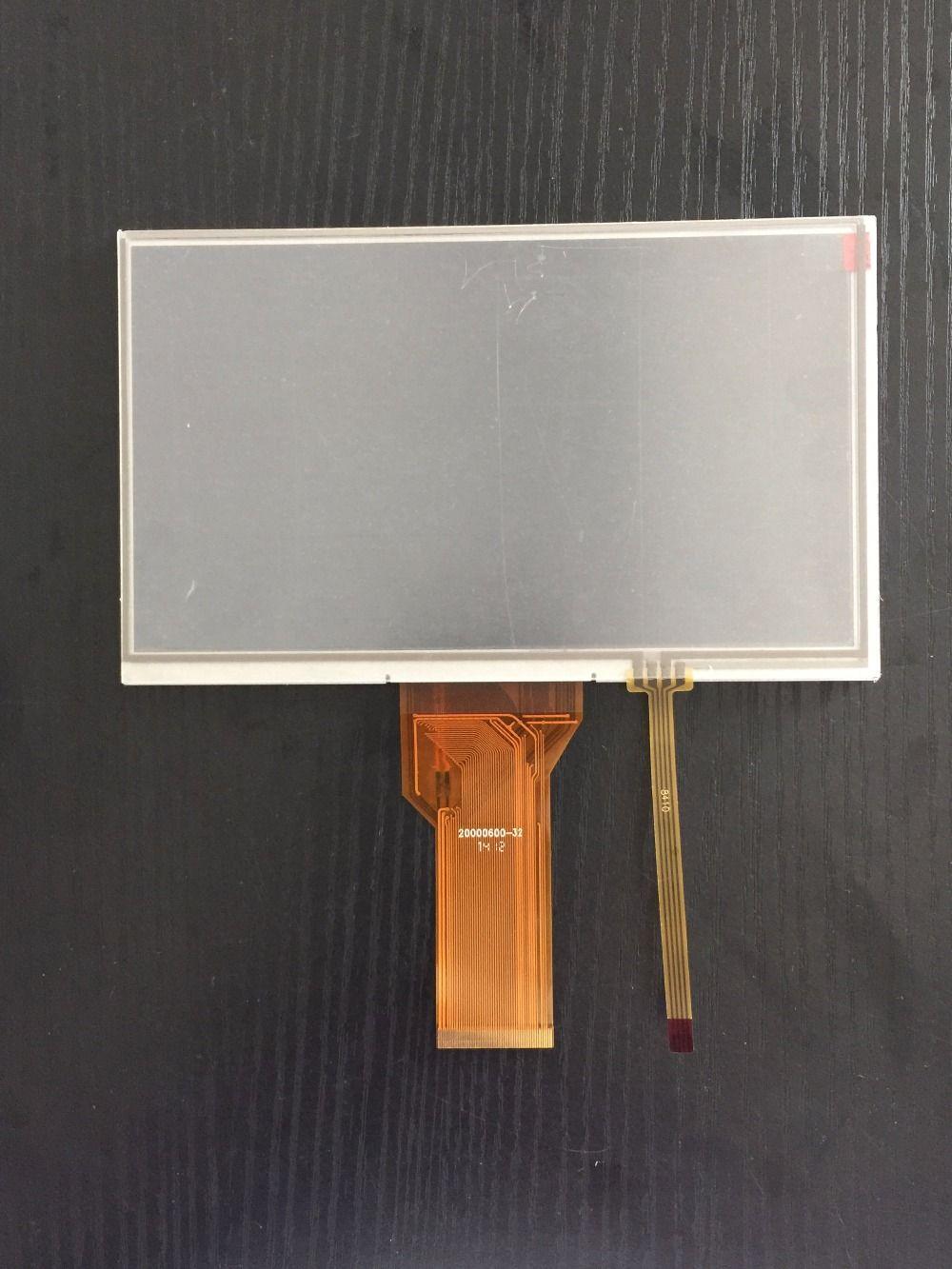 165mm * 100mm 7 pouces 800x480 TFT LCD affichage 400 lentes haute luminosité avec écran tactile RTP écran tactile