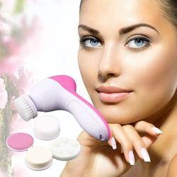 5-1 Électrique Visage brosse pour le visage de nettoyage brosse Mutifunction Pores Du Visage Cleaner Mini nettoyant Visage Machine Beauté de La Peau Massage Spa