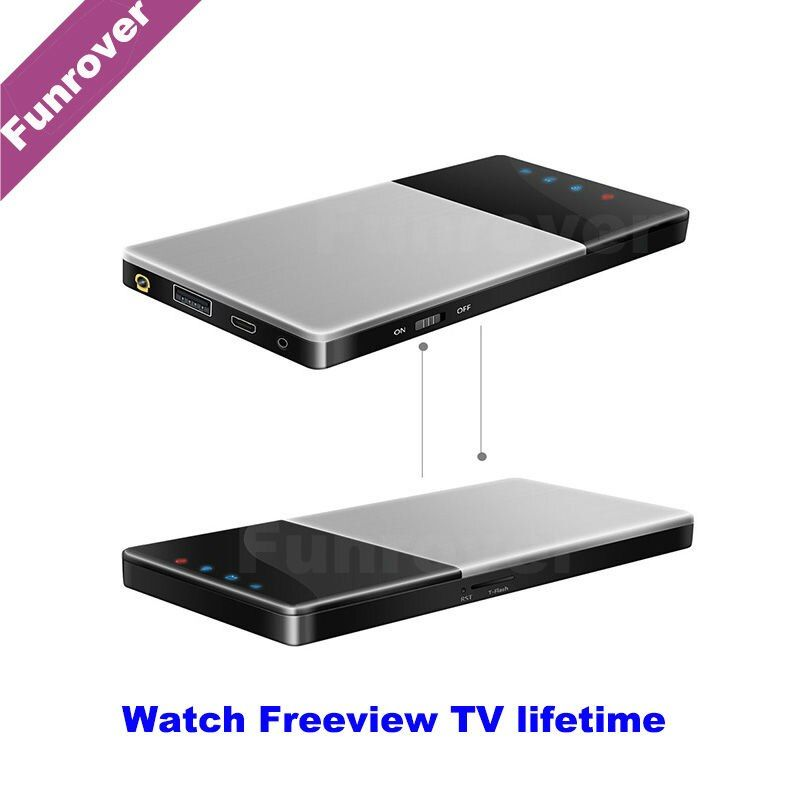 Dvb-t2 car2017 Car HD Wifi TV Box DVB-T/T2 Mobile Digital TV Turner Receiver Car Home Outdoor Portable iOS Android Freeview life