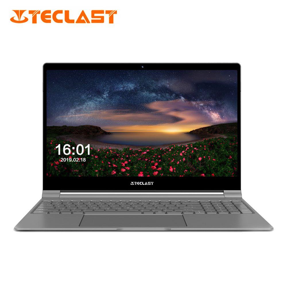 Teclast F15 Notebook 15,6 ''Windows Intel N4100 Quad Core 1,1 GHz 8 GB RAM 256 GB SSD 1.0MP Vorne kamera Micro HDMI 5500 mAh Laptops