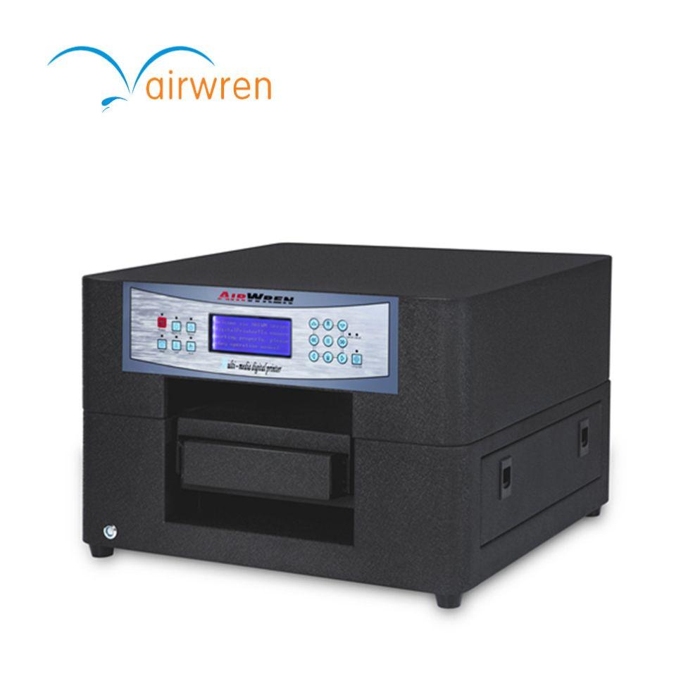 2018 neue Produkt Kunststoff Tasche Druck Maschine A4 Eco Solvent Drucker