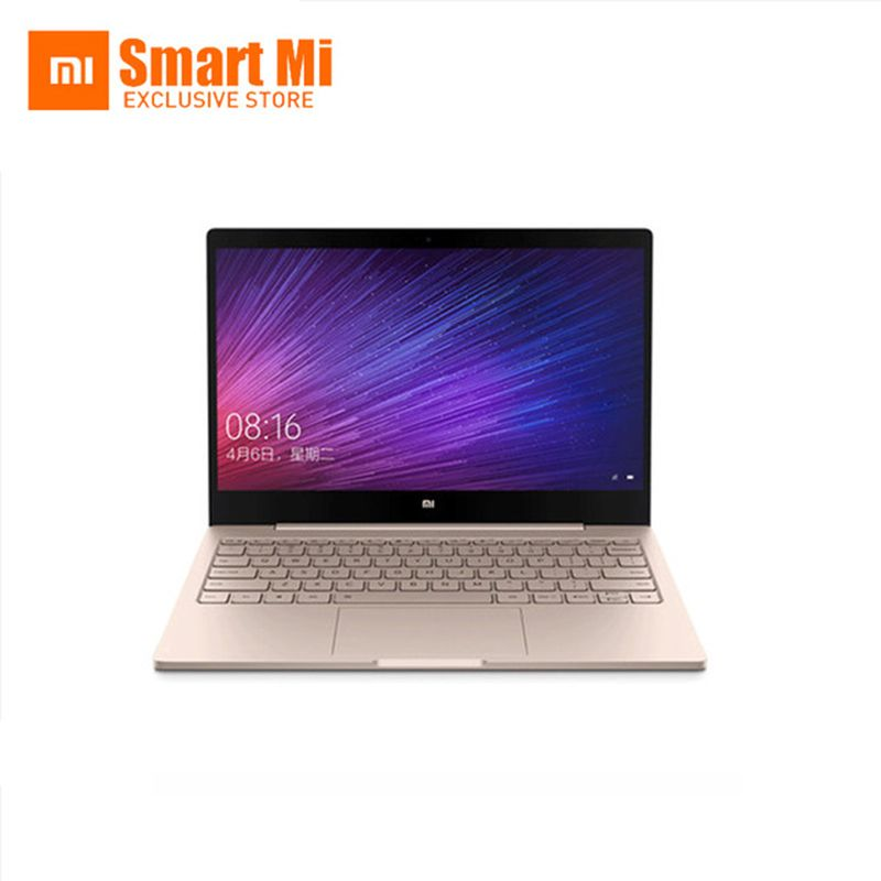 Gold Englisch Xiaomi Air 12 Laptop Notebook Ultra Slim 12,5 zoll Windows 10 IPS FHD 1920x1080 4 GB RAM 128 GB SSD HDMI 2,2 GHz