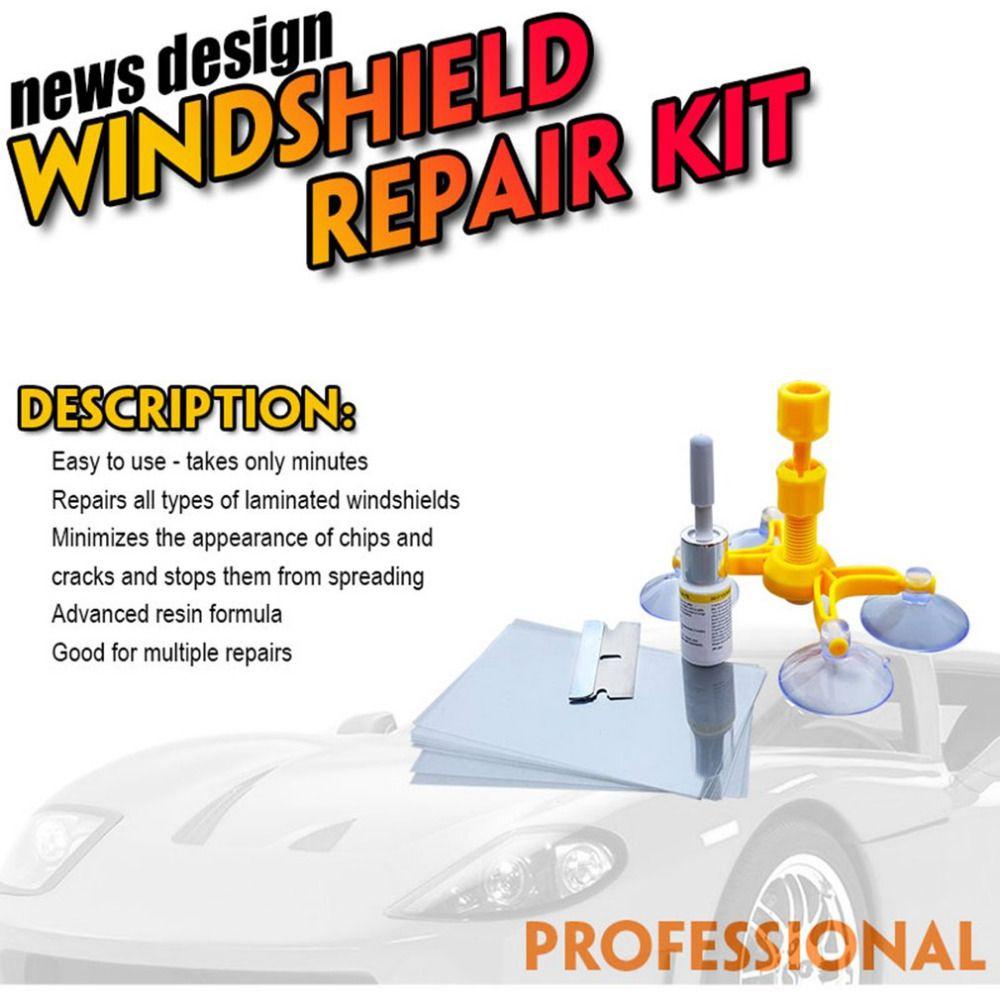 Heißer Windschutzscheibe Reparatur Kits DIY Auto Fenster Reparatur Werkzeuge Glas Kratzer Wiederherstellung Windschutzscheibe Riss Polieren Reparatur Tool Heißer Verkauf