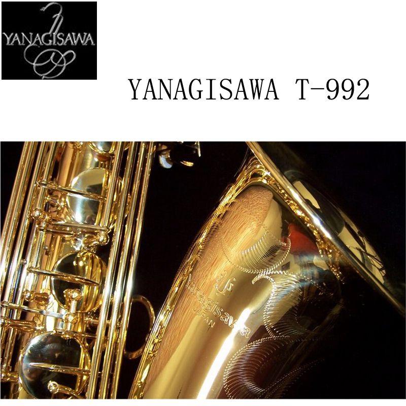 2017 Янагисава T-902 Саксофоны тенор Поддержка Профессиональный позолота и лак Золотой тенор Саксофоны sax с случае