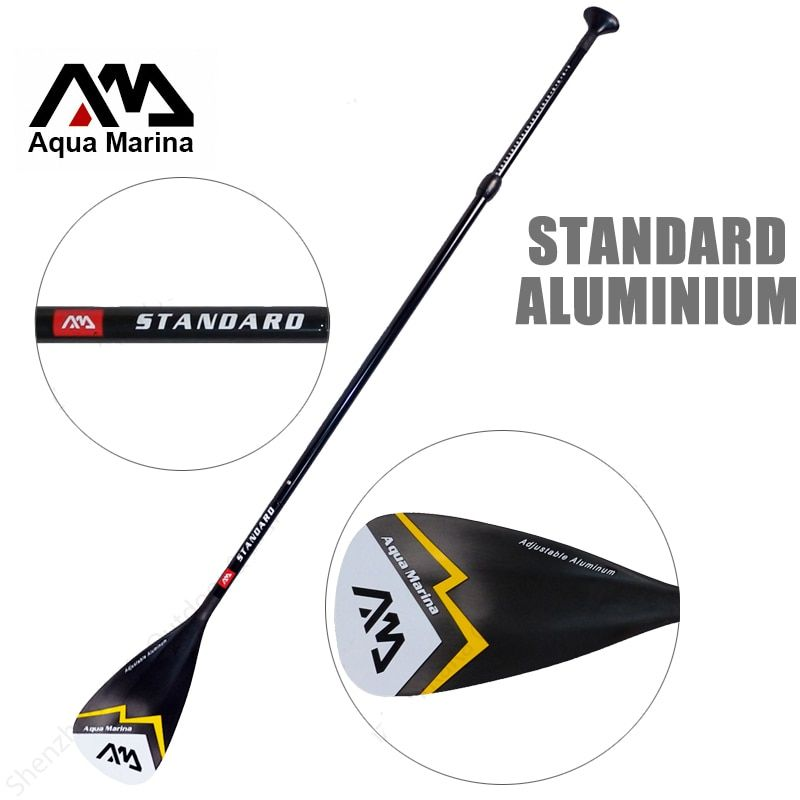 AQUA MARINA aluminium SUP paddle standard oar for stand up paddle board surfing extendable 166-212cm T handle oar water A03005
