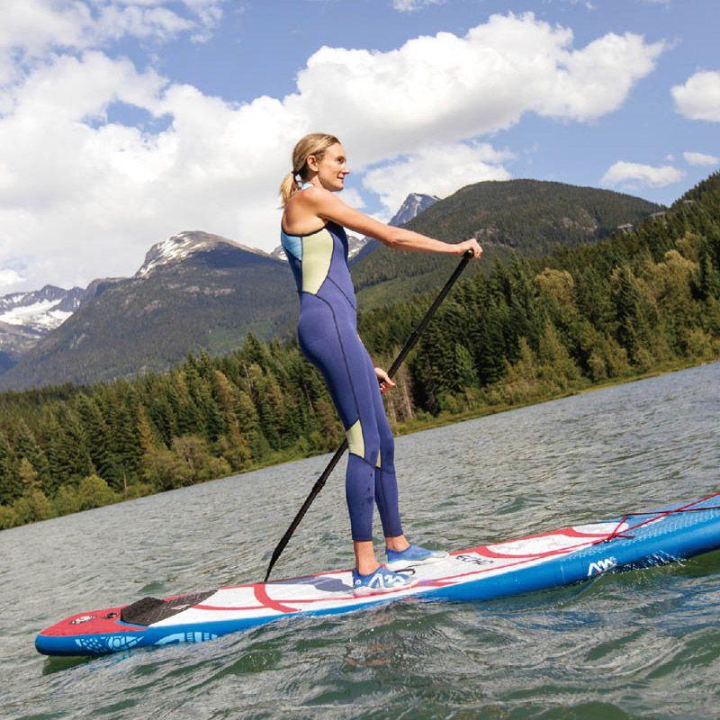 Surf board 320*81*10 cm AQUA MARINA ECHO aufblasbare sup bord stand up paddle board surf kajak sport schlauchboot kajak A01012