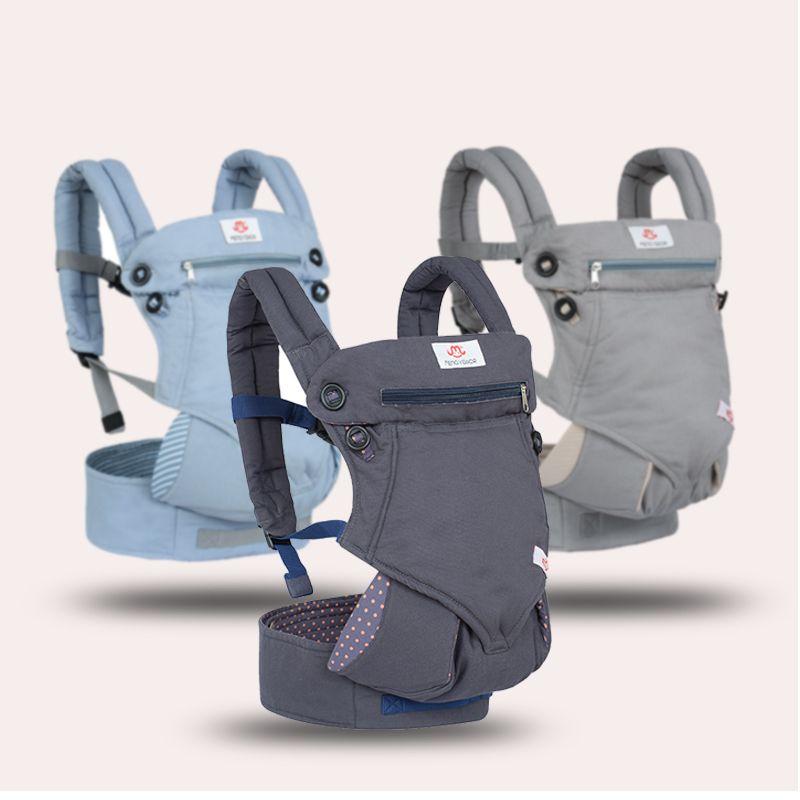 Ergonomische 360 Baby Carrier Rucksäcke 3-36 monate Tragbare Baby Sling Wrap Baumwolle Infant Neugeborenen Baby Trage Gürtel für mama Papa