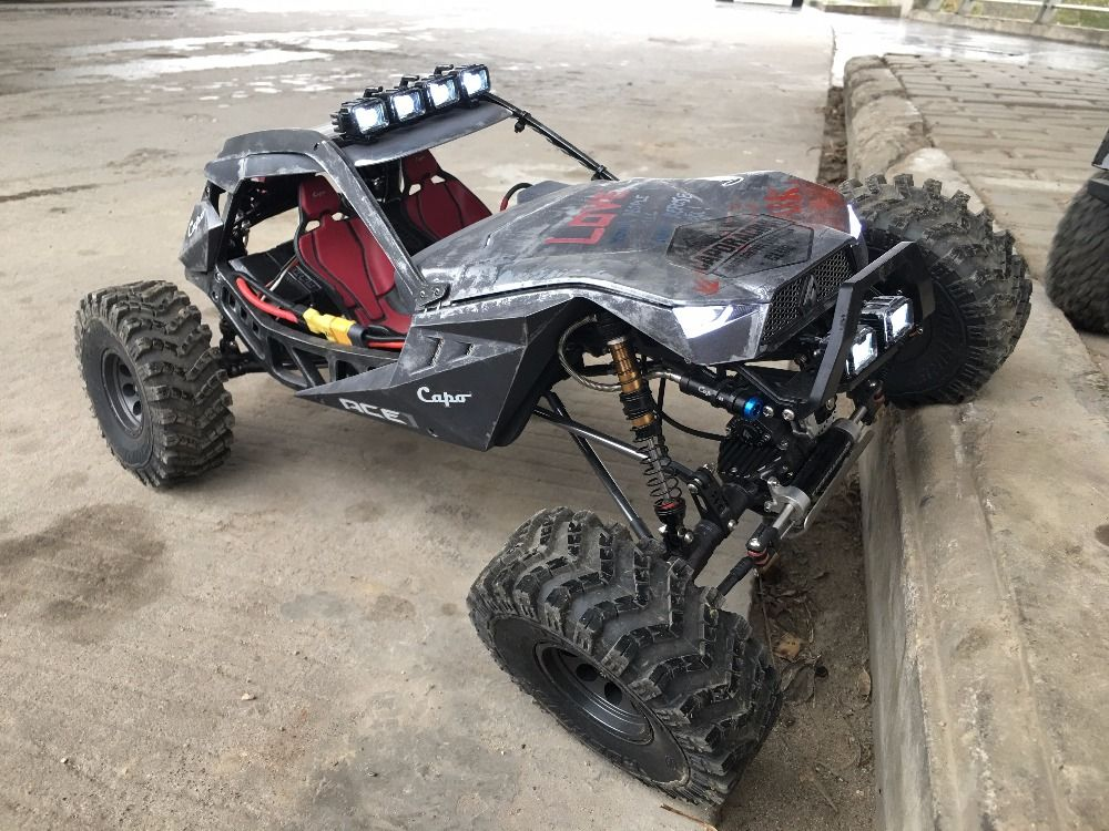 CAPO ACE1 ROCK CRAWLER 1/10 RC Car 2.4G 4CH 4WD Rock Crawlers 4x4 Driving Car Climbing car simulation climb climbing performance