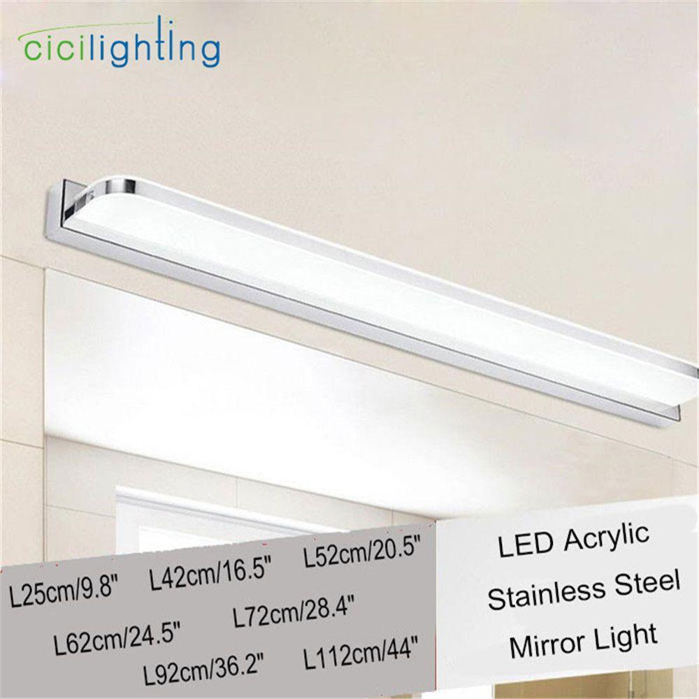 L25/42/52/62/72/92/112cm Modern Acrylic LED mirror light bathroom Vanity makeup dress table cosmetic led wall lighting fixtures