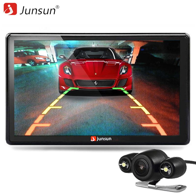 Junsun 7 inch Car GPS Navigator Bluetooth with Rear view Camera MP3 MP4 256MB DDR/800MHZ Recreational Vehicle