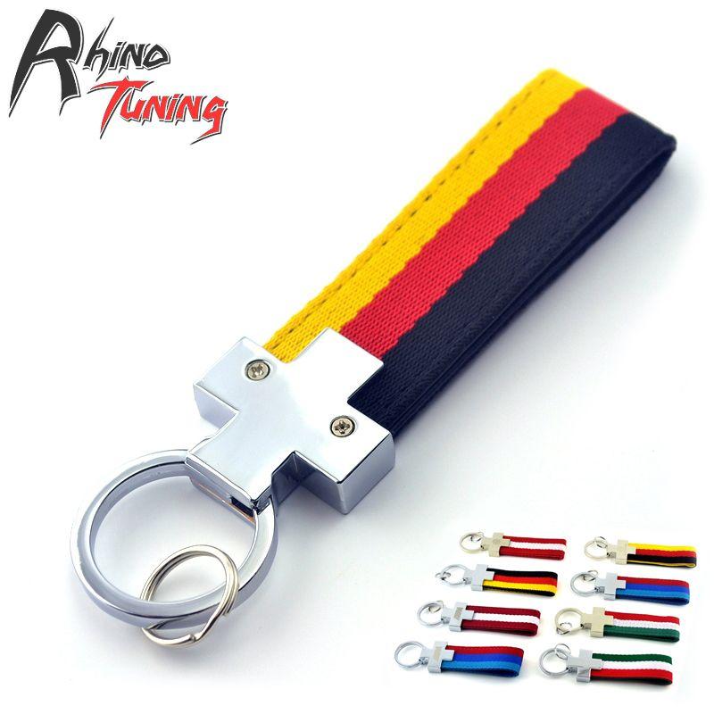Rhino Tuning No Logo Germany Flag Car Key Chain For Scirocco TDI TSI GT  Vento Parati Gol Auto Keyring 322