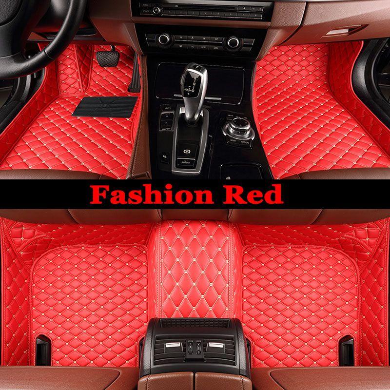 ZHAOYANHUASpecial made car floor mats for Kia Sportage Optima K5 Sorento Carens 5D full cover case  high quality carpet liners