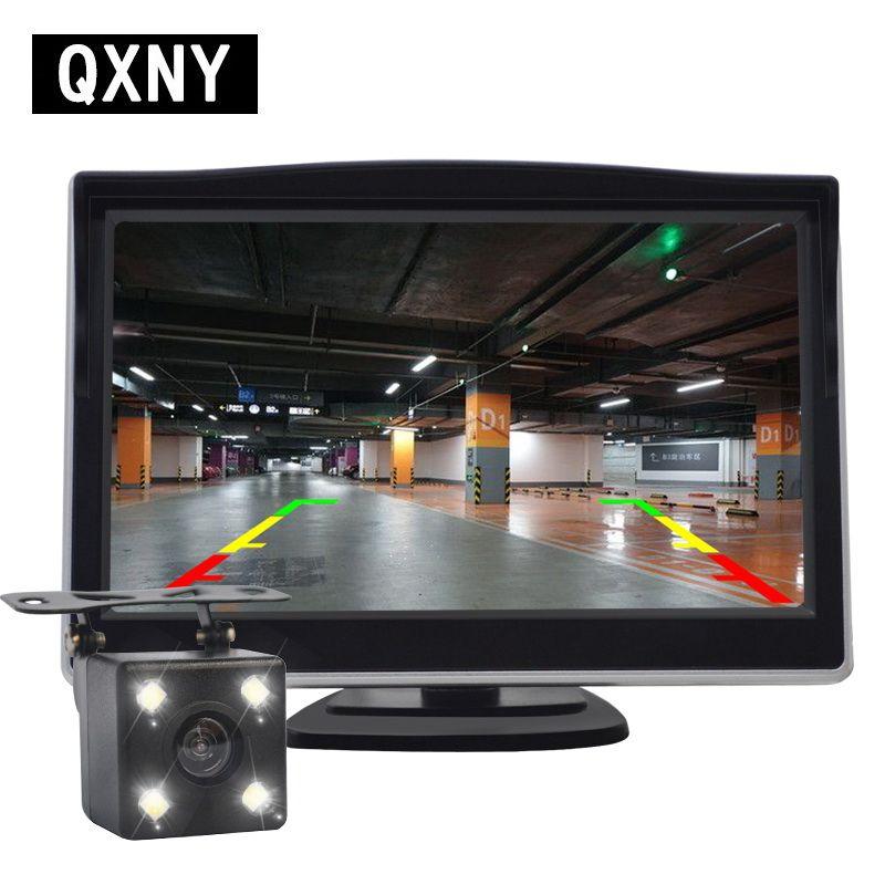 Moniteur de voiture HD image de recul caméra de vue arrière de voiture caméra de recul capteurs électroniques de détection de voiture