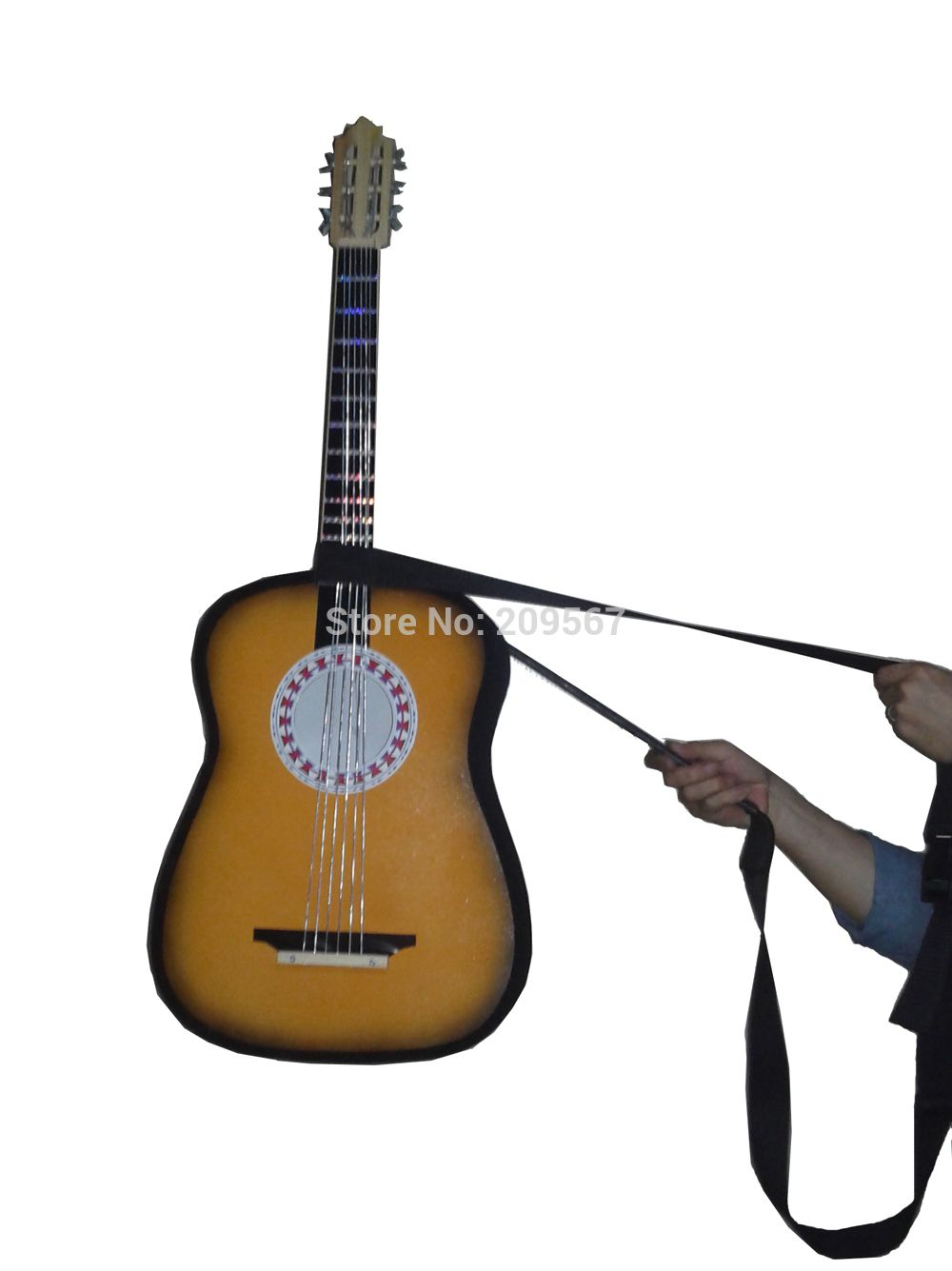 Appearing Guitars and Floating Guitar/Magic Tricks/Stage Magic/comes with carrying case