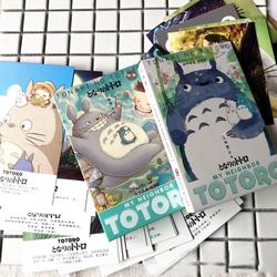 36 Pcs/pack Belle Mon Voisin Totoro Carte Postale De Voeux Cadeau De Noël Cartes Carte D'anniversaire Lettre Enveloppe Carte-Cadeau Cadeaux
