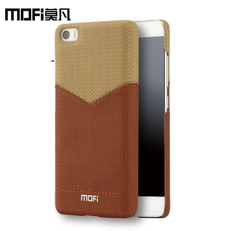 Xiaomi mi5 cas de dos de cuir xiaomi mi5 cas mofi pour xiaomi mi 5 cas capa mi5 pro coque xiomi