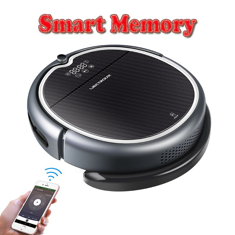 (New Arrival)LIECTROUX Robot Vacuum Cleaner Q8000, WiFi App, Map Navigation,Suction 3000Pa,Memory,Wet Dry Mop,Best Aspirador