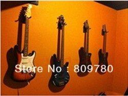 1 шт. Гитары вешалка настенная/Крючки/держатель/подставка/стойки/крюк для всех Гитары, короткий крюк + крепежные винты