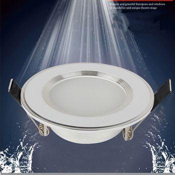 1 pcs Dimmable Étanche LED Downlight 220 V 7 W/9 W/12 W/15 W/18 W LED Ampoule Lumière Encastré LED Spot Light Pour Salle De Bains