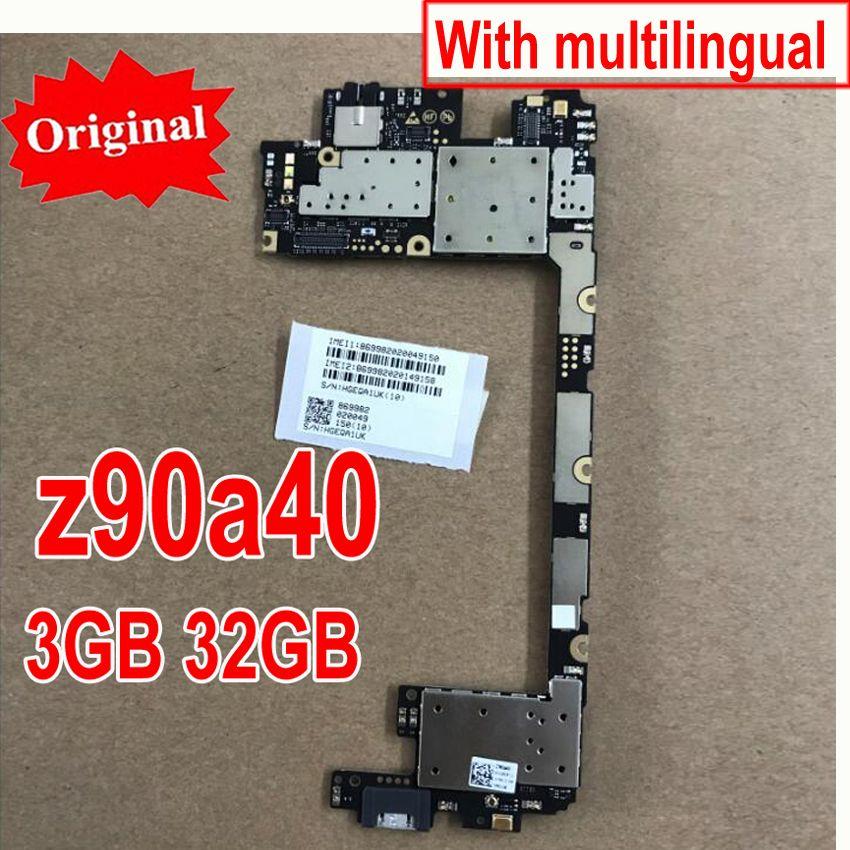 Original Neue Multi-Sprache Main Board Für Lenovo Vibe schuss Z90 Z90A40 3 GB 32 GB motherboard mainboard karte gebühr chipsätze