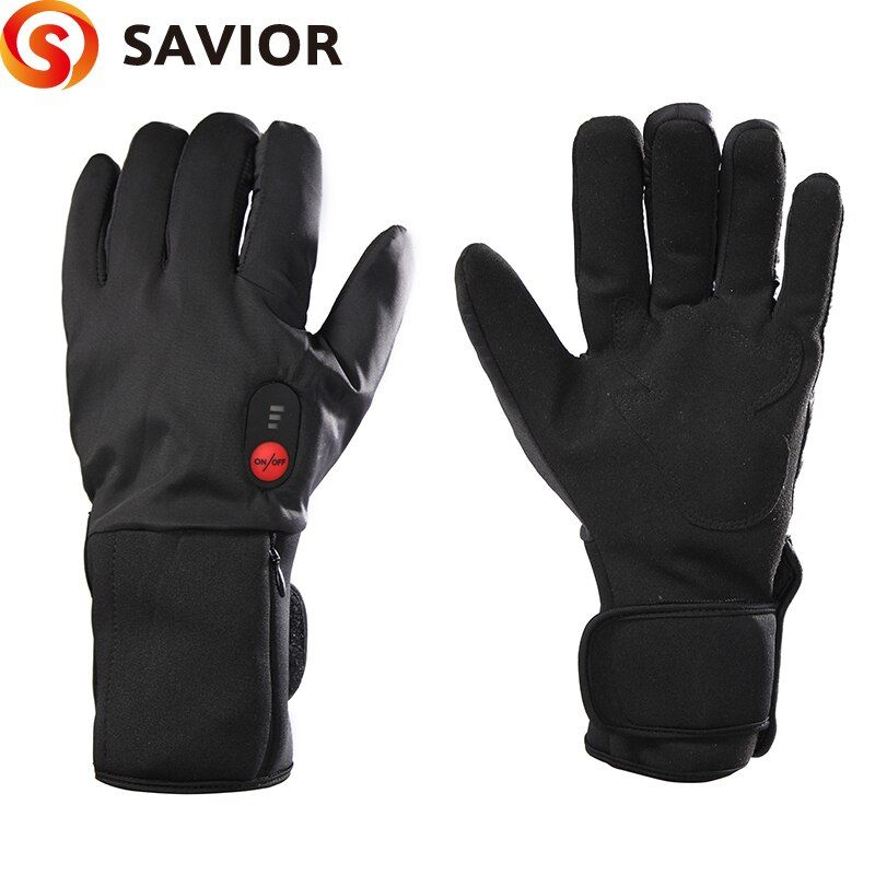 SAVIOR S-11B Thin Model Electric heating Gloves Winter Ski Biking low temperature Men Women Keep Warm