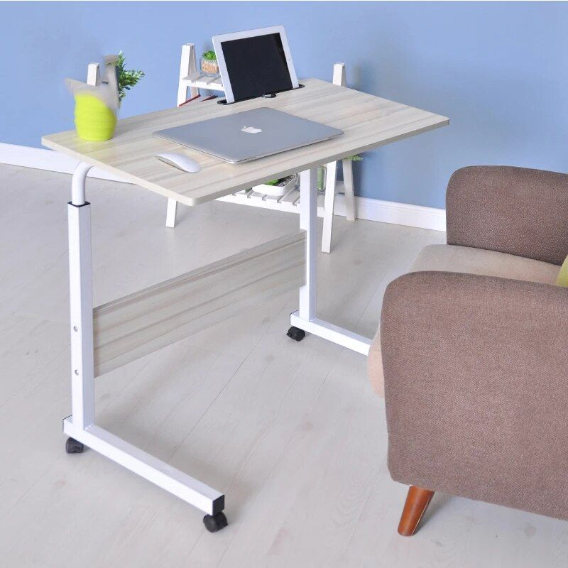 2018 Computer Table Adjustable Portable Laptop Desk Rotate Laptop Bed Table Can be Lifted Standing Desk 60*40CM