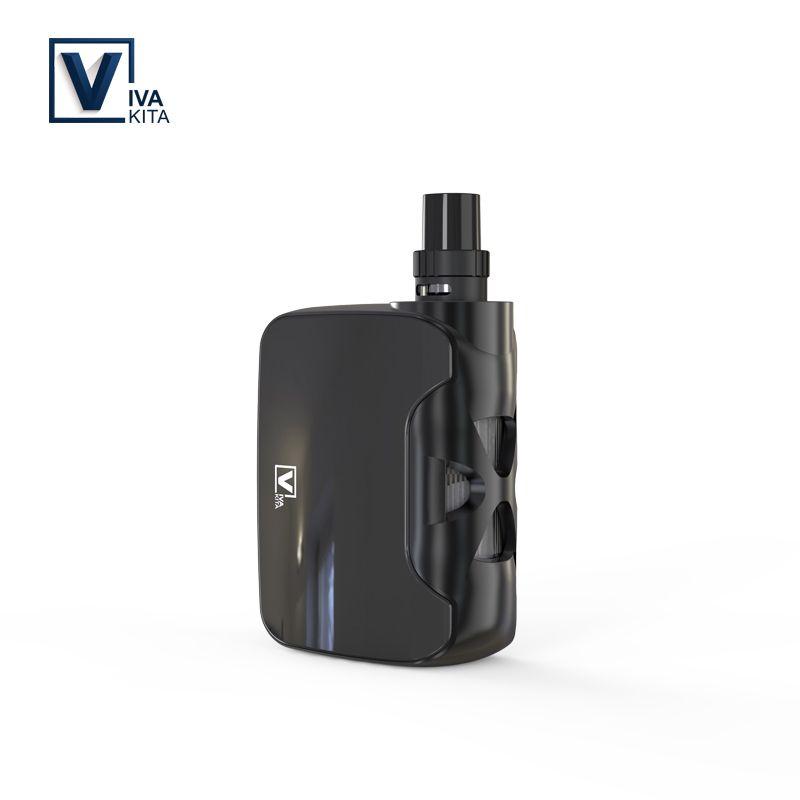 Vape kit VivaKita 50W All-in-one Fusion Vaporizer Electronic Cigarette 1500mah vape mod 0.25ohm built in evaporator dropshipping