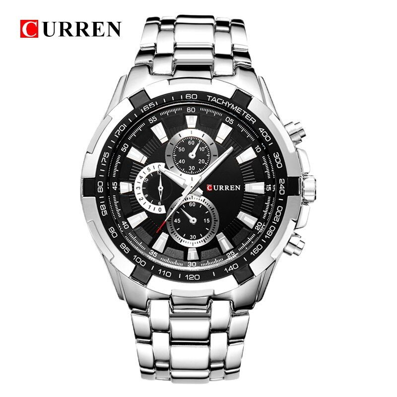 Relogio Masculino CURREN Watches Men quartz <font><b>army</b></font> Watch Top Brand Waterproof male Watches Men Sports