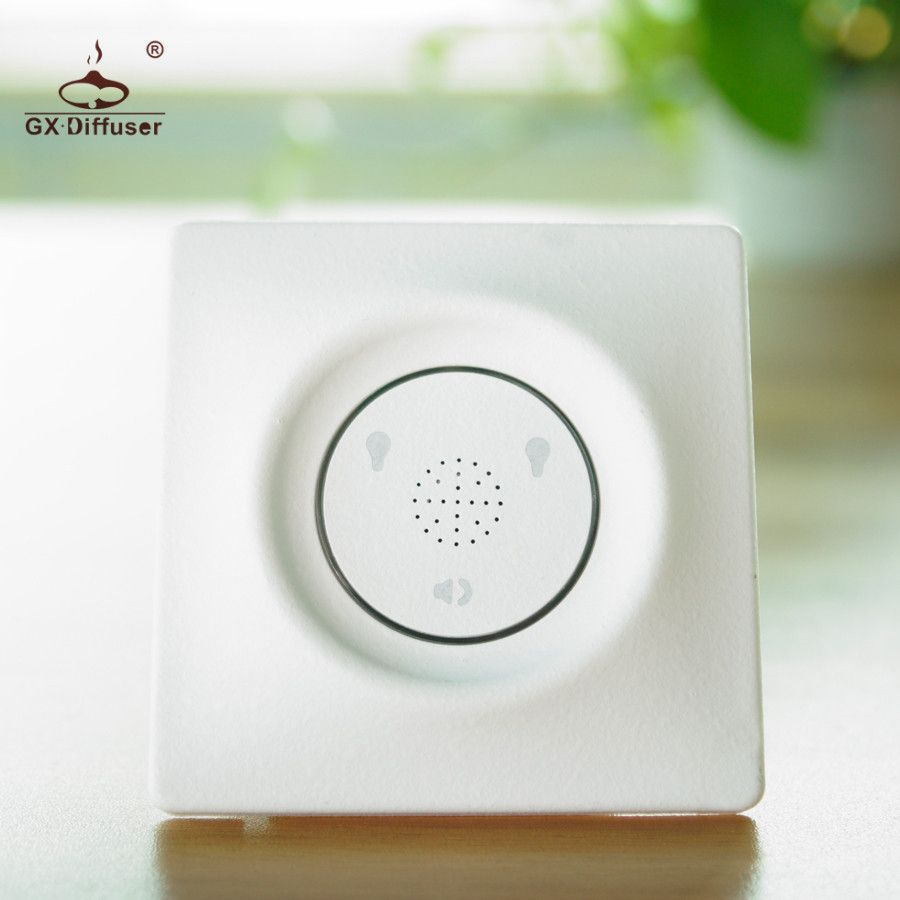 GX.Diffuser New Type 2Gang 2 Way Intelligent Touch Switch Wireless Light Switch Smart Sound Sensor Switch And Touch Control Home