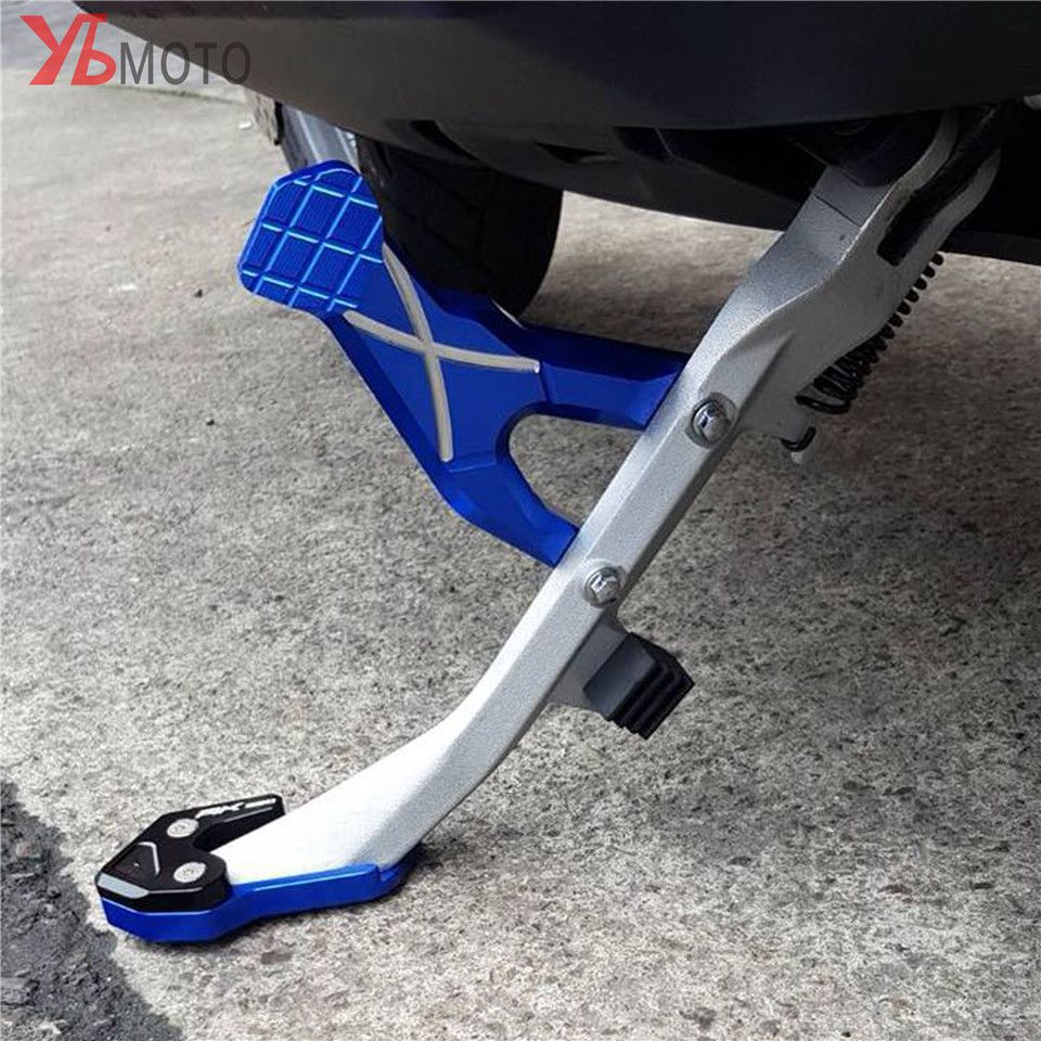 For KYMCO AK550 AK 550 2017-2018 Fashion Accessories Motorcycles CNC Kickstand Side Column auxiliary Seat Fast&Free shipping