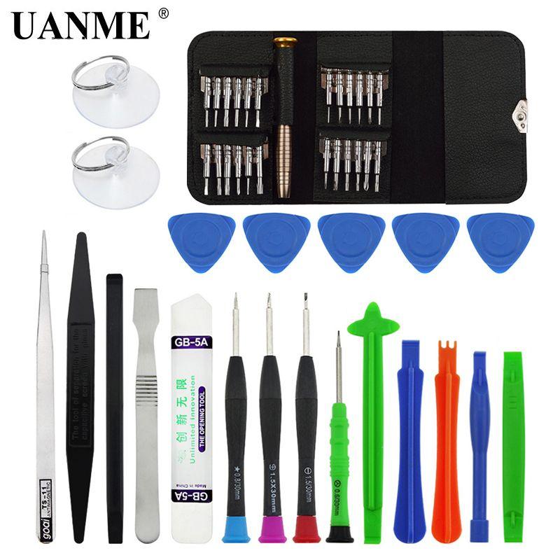 UANME 46 en 1 tournevis Torx outil de réparation de téléphone portable Set outils à main pour IPhone téléphone portable Xiaomi tablette PC petit Kit de jouets