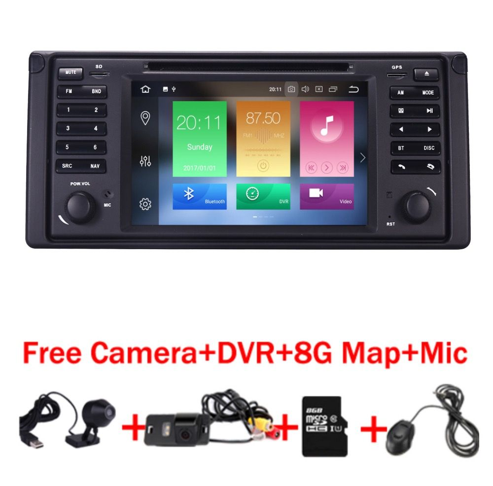 Android 8.0 Quad Core GPS Navigation 7